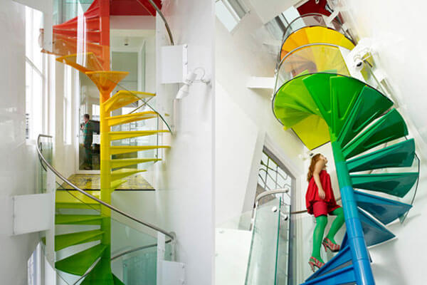 renkli merdiven